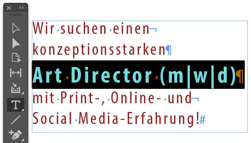 Art Director in Festanstellung gesucht!
