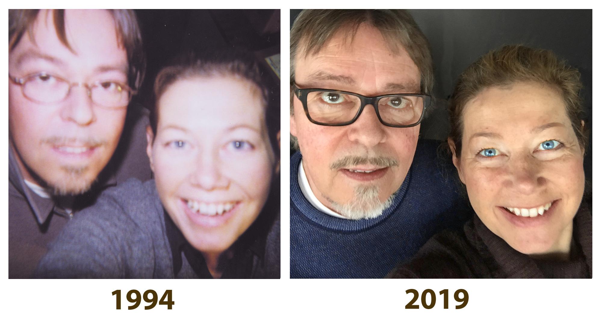 Gaby Willeczelek und Josef Hillen, seit 25 Jahren die Geschäftsführer von Graphix Düsseldorf