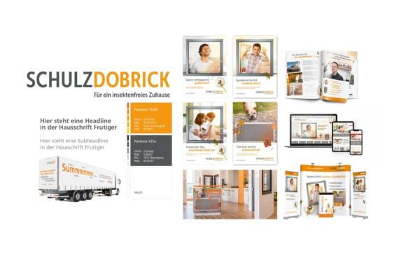 Schulz-Dobrick Moodboard Corporate Identity