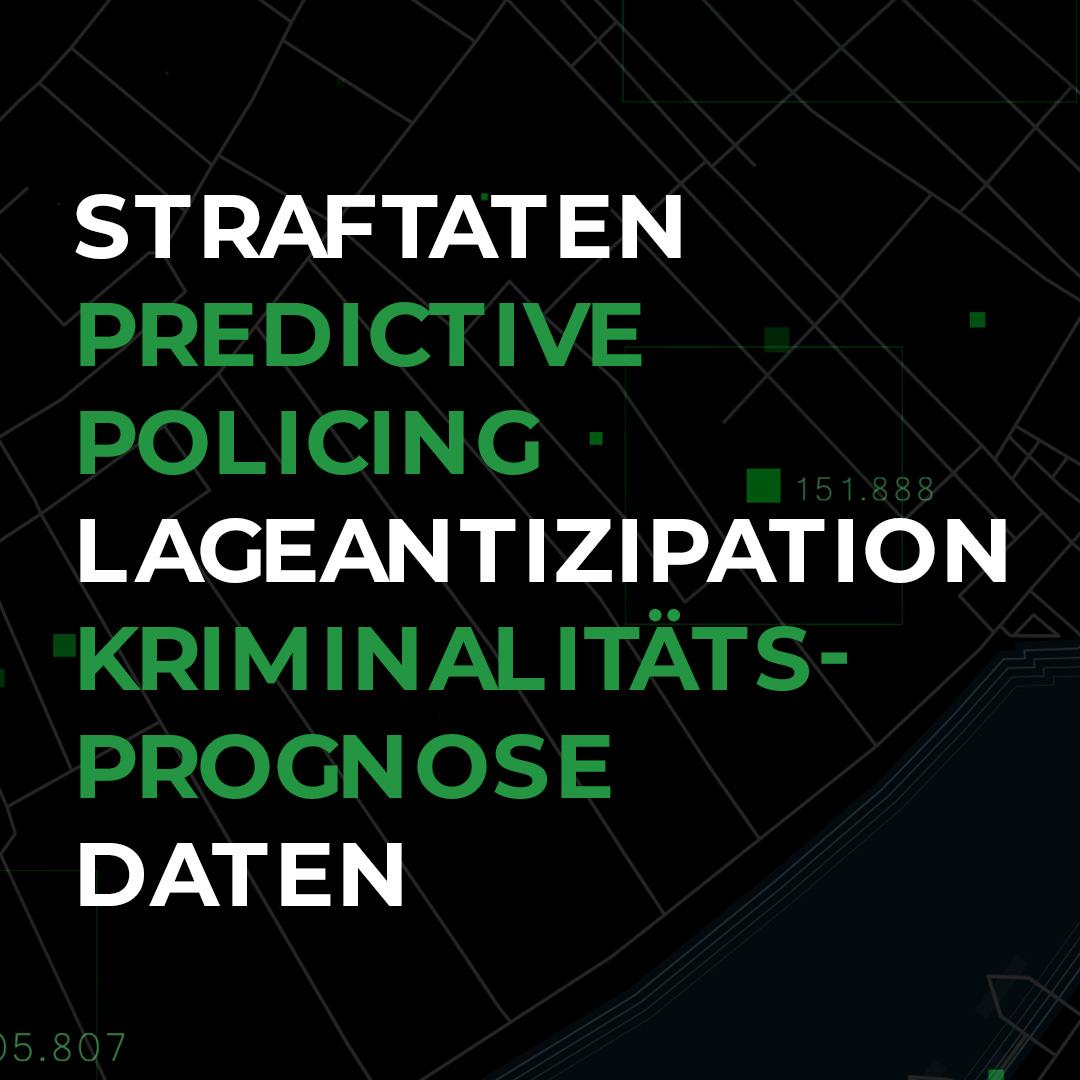 Begriffe des Projekts SKALA, Predictive Policing